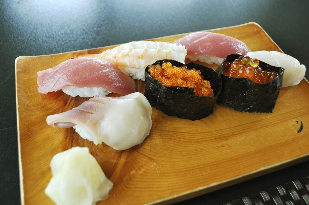 政寿司の人気「上にぎり」
