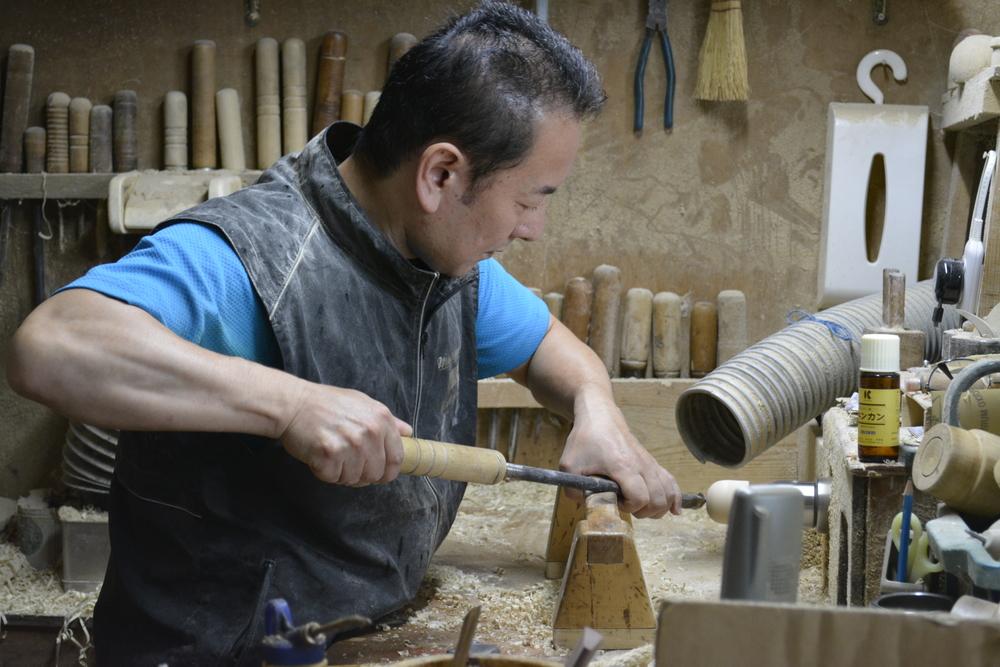 佐々木工房の職人技