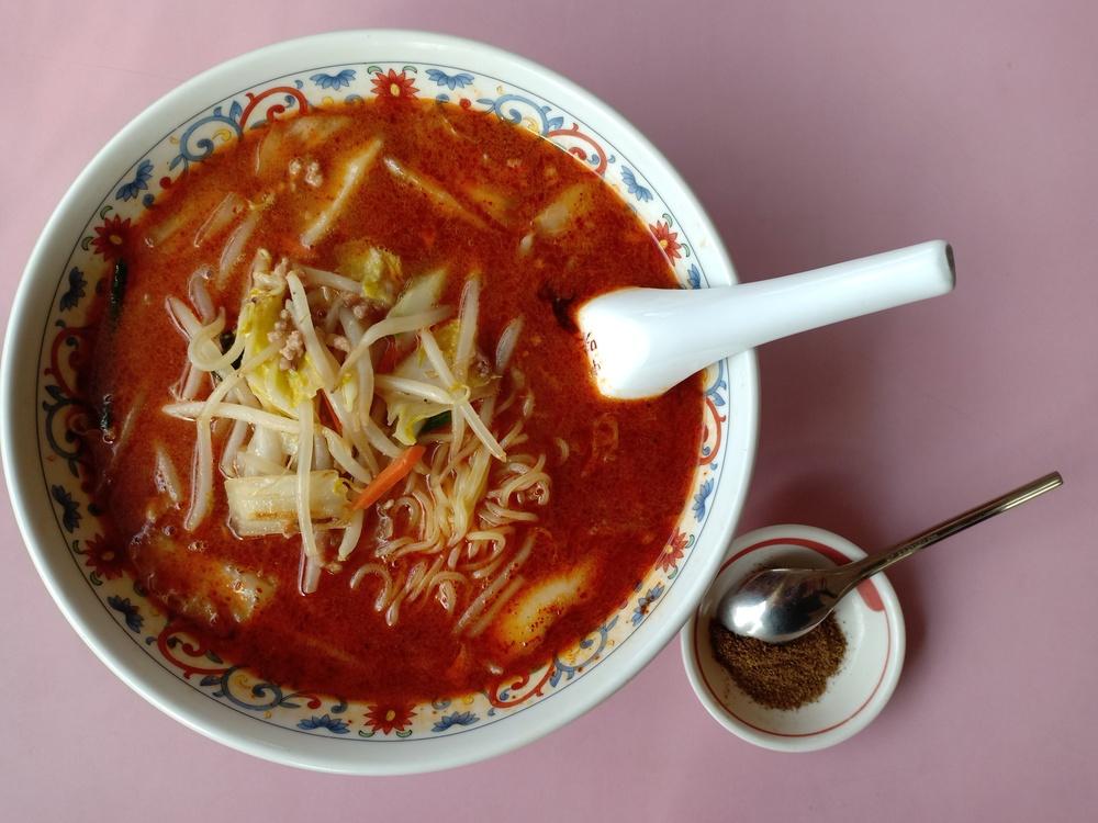 四川省の山椒パウダーがくせになる「辛味噌湯麺」