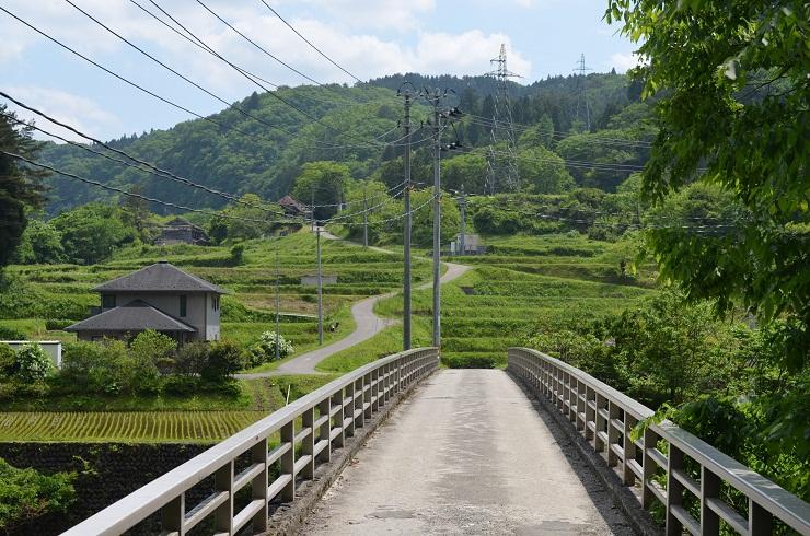 小原温泉周辺の橋