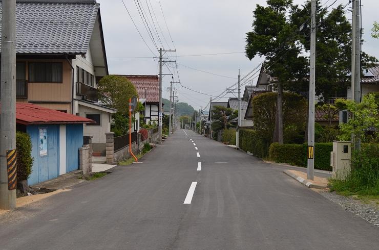街並み-越河宿